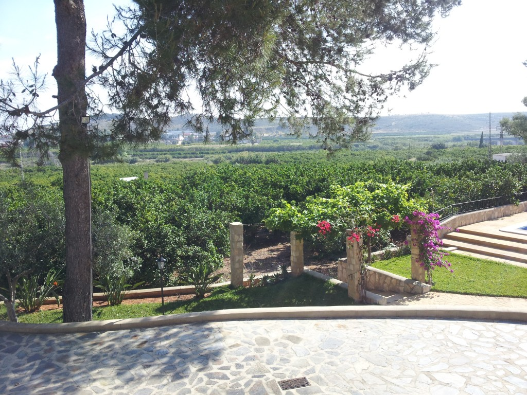 View from the villa Entre Pins
